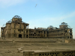View of the King's Palace (Darulaman); Kabul