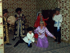 Traditional dance show, Khiva