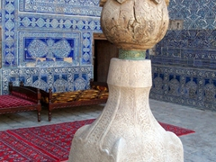 Ornate Column, Kukhna Ark, Khiva