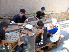Woodwork school for boys, Khiva