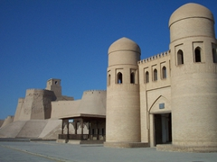 City walls, Khiva