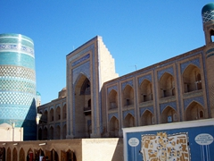 West gate of Ichon-Qala (old city), Khiva