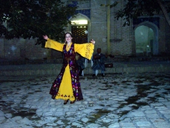 Dance performer, Khiva
