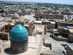 Climb up one of Bukhara's many towers for a fine panoramic view over this lovely city