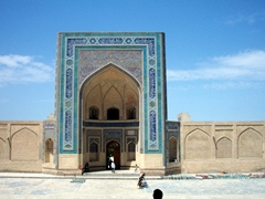 Another image of the Kalan Mosque; Bukhara