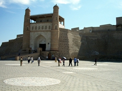 Entrance to the Ark Fortress, Bukhara