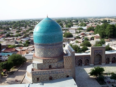 Bird's eye view, Samarkand