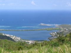 Pic Paradise offers fantastic views of the island
