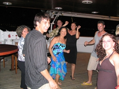 Pretty soon we convinced more and more folks to join us on the dance floor