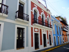Old San Juan is a gorgeous walking city filled with colonial architecture and brightly preserved buildings