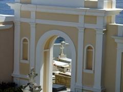 """Another view of the """"Cementerio de San Juan"""""""