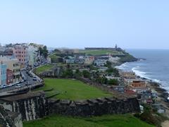 Another vista of Old San Juan as seen from La Fortaleza (also known as the Palacio de Santa Catalina)