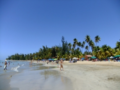 Our afternoon visit to Balneario de Luquillo; one of Puerto Rico's most popular beaches