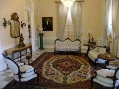 Interior of Casa Cautino (a lovingly restored colonial era residence); Guayama