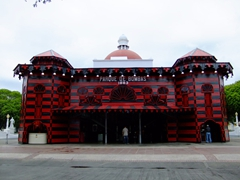 "Ponce's ""Parque de Bombas"" is the most photographed fire station in Puerto Rico"