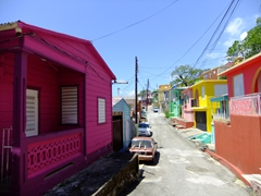 More colorful abodes; Yauco