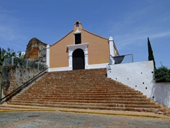 The Porta Coeli Church, a convent from 1606; San German