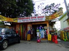 Dive shop; Rincon