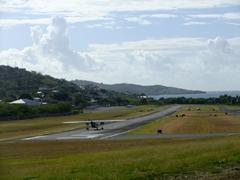 Tiny airport; Culebra