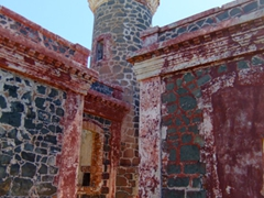 Culebrita's circa 1886 lighthouse has long ago been abandoned