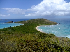 The views overlooking Culebrita from the lighthouse are phenomenal