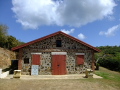 Culebra's history museum; built in 1905 by the US Navy to be used as a munitions warehouse