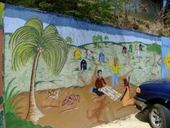 Wall mural; Culebra