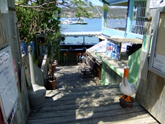 Entrance to Dinghy Dock; Culebra
