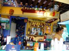Mamacita's bar is an inviting place; Culebra