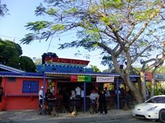 Lazy Jack's is a popular restaurant/bar; Esperanza