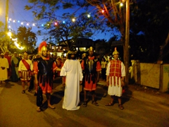 The Passion Play on the Malecon; Vieques