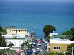 "The town of Isabel Segunda (Vieques' other ""big"" town)"