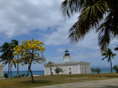 The Punta Mulas Lighthouse (also known as Morropó) was built in 1893. Sadly, it remains off limits these days