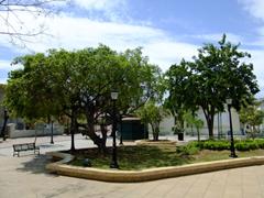 Town square of Isabel Segunda