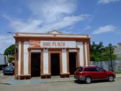 Old bar on Isabel Segunda square