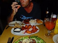 Great dinner at Duffy's restaurant; Esperanza