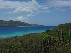 View from Culebrita looking back towards Culebra