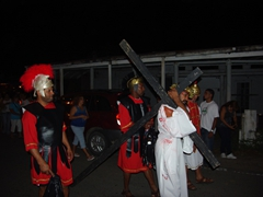 Another view of the Passion Play; Esperanza
