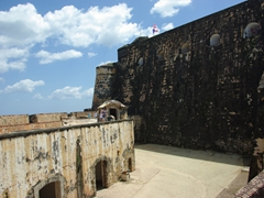 The six-level fortress of El Morro definitely warrants a few hours to visit; Old San Juan