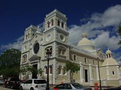 Another view of the pretty Iglesia San Antonio de Padua; Guayama