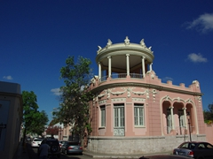 The Museum of Puerto Rican Architecture is housed in this 100-year old residence on Reina Street; Ponce