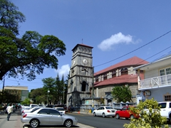 Cathedral of the Immaculate Conception; Castries (this church is considered the largest in the Caribbean measuring 200 feet long and 100 feet wide)