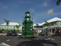 The circus in Basseterre was modeled after the Picadilly in London