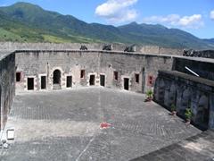 Garrison courtyard; Brimstone Fortress