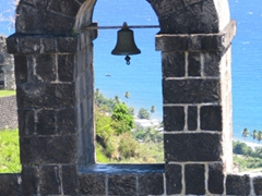 Bell archway at Brimstone Fortress