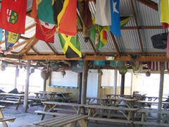 Unfortunately, Sprat Net Bar & Grill was empty for lunch…although we heard it is a lively place for dinner!