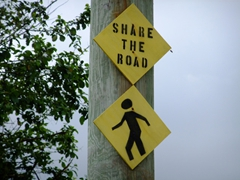 Humorous sign near Cane Bay