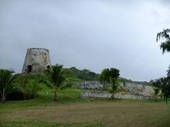 Old sugar mill plantation