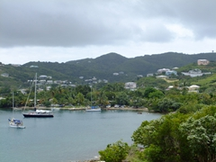 View of St Croix from Ft Christiansvern