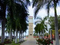 Frederiksted's clock tower